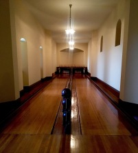 Biltmore's very own bowling lanes.