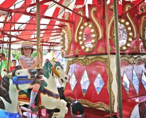 Carousel ride!