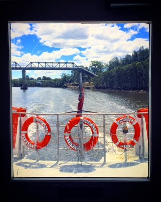 Parramatta River Ferry ride.